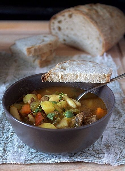 Hungarian Goulash Soup | Soul food to go | Pinterest