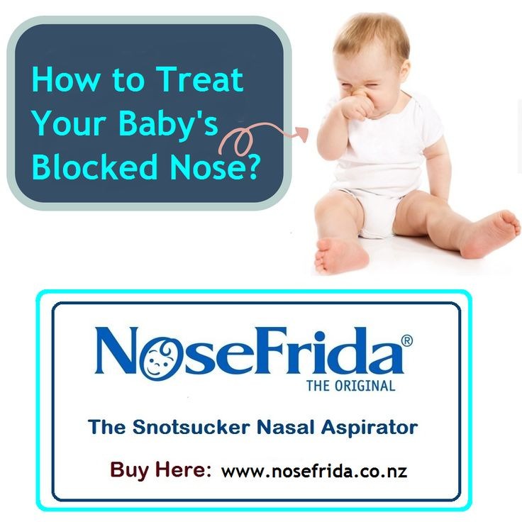 How to Clear a Babys Stuffy Nose images