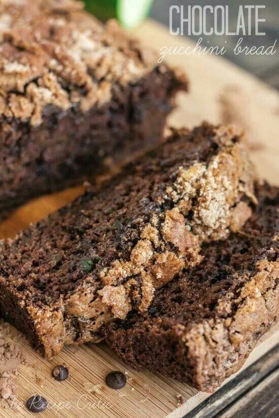 Chocolate zucchini bread | Food | Pinterest