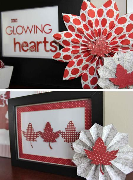 50 red and white home decorating ideas for canada day for Home decorations canada