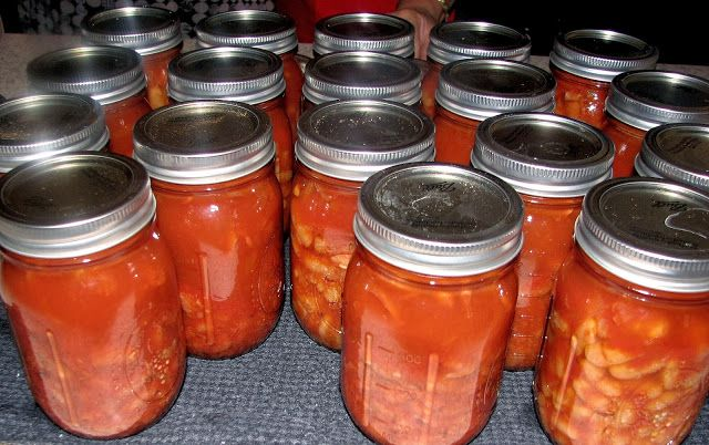 Baked Beans (in Tomato Sauce) | Canning, Preserving and Storing | Pin ...