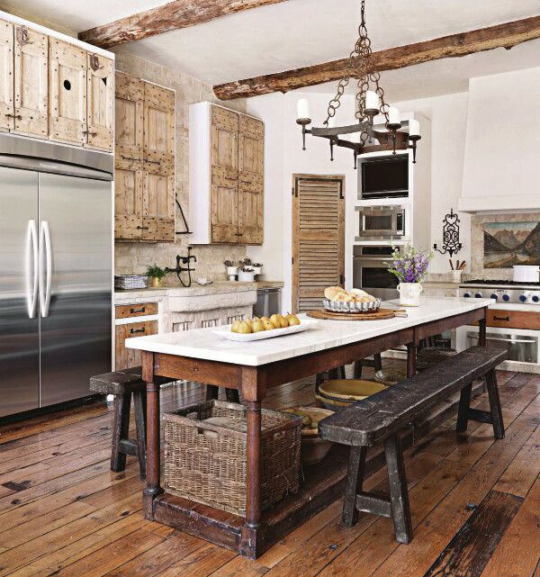 Kitchen Modern Rustic: 301 Moved Permanently