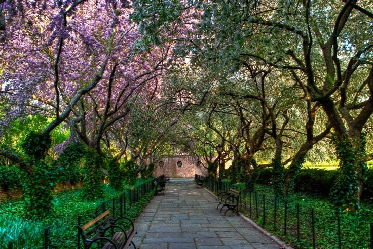 Central Park Conservatory Garden Favorite Places In The