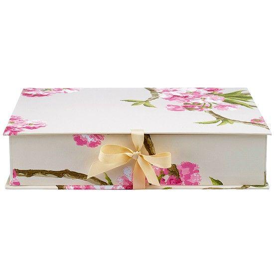 Floral Document Box