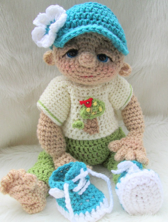 Crochet Doll Pattern Cute : Cute Doll Patterns Crochet & Knitting Pinterest