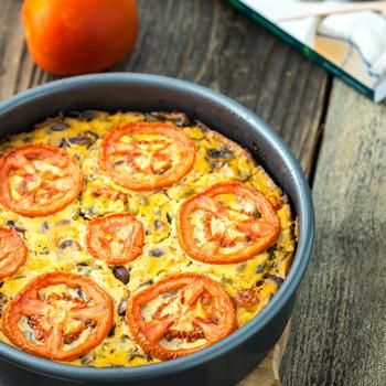 Frittata Puttanesca One-Dish Vegan: Review