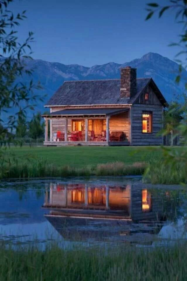 Cabin By The Lake Cottage Charm Pinterest