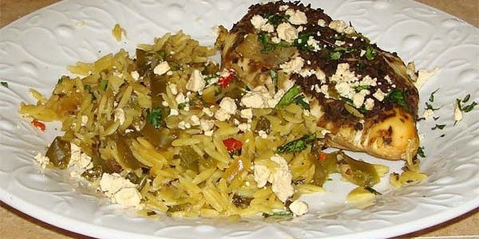 Greek Chicken and Orzo | Foodie | Pinterest