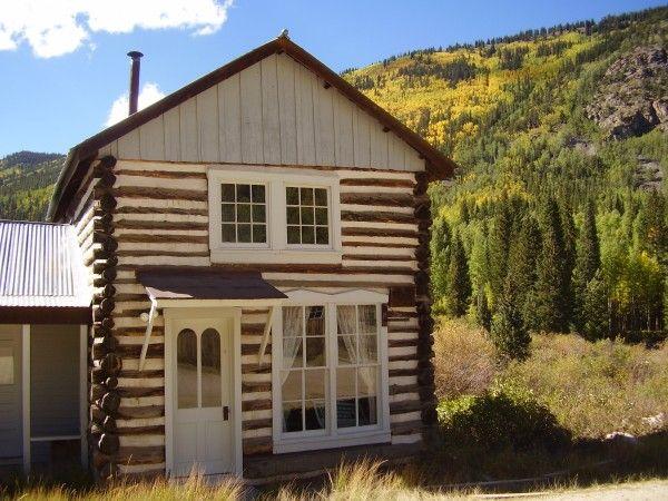 St elmo colorado before tiny was cool pinterest for St elmo colorado cabins