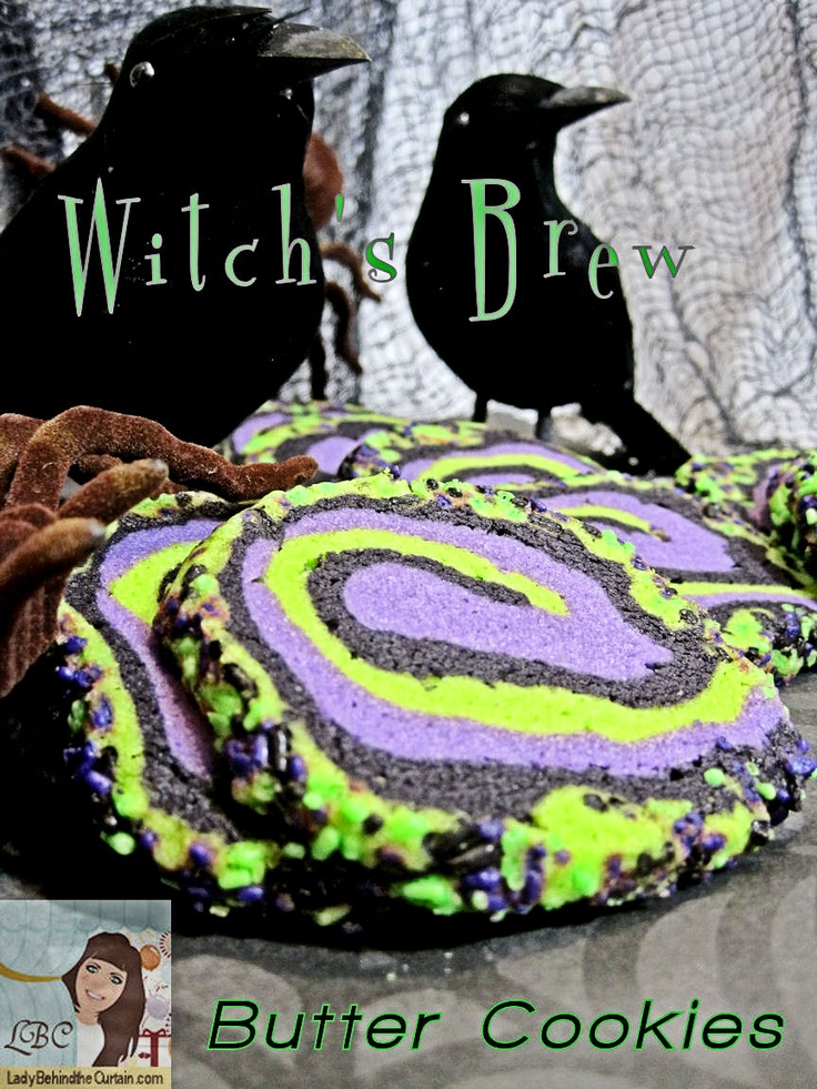 Lady Behind The Curtain - Witch's Brew Butter Cookies