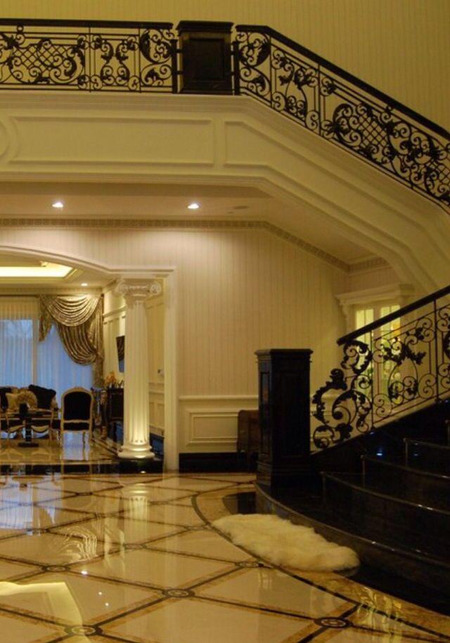 Luxury Mansion Foyer : Luxury mansions foyer homes pinterest