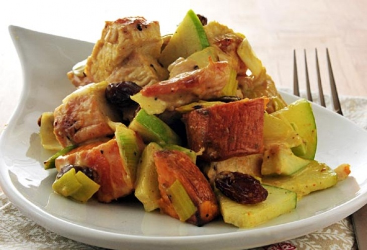 Curry Sweet Potato and Turkey Salad | Tasty Foodstuffs and Fabulous K ...