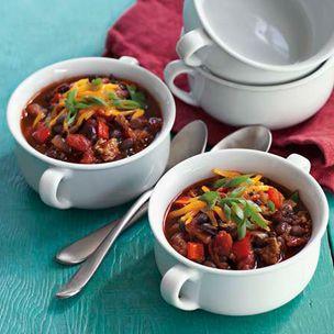 Turkey and Black Turtle Bean Chili | Food | Pinterest