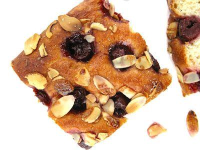 cherry almond clafoutis cherry almond gratin cherry almond biscotti ...