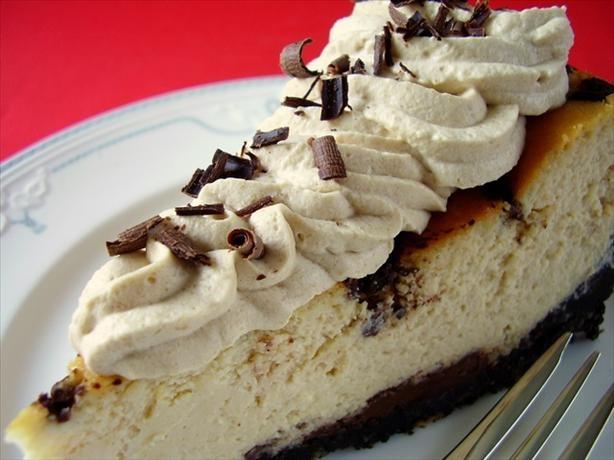Irish Cream Chocolate Chip Cheesecake--can substitute irish creme ...