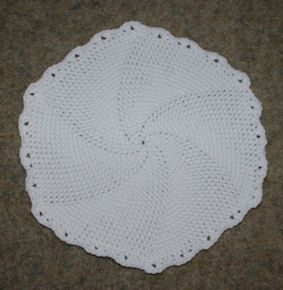 Crochet Patterns In The Round : In The Round Placemat Crochet Pattern crochet Pinterest