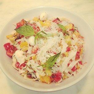 Burrata with Asparagus, Peas and Pistachio-Arugula Pesto | Williams ...