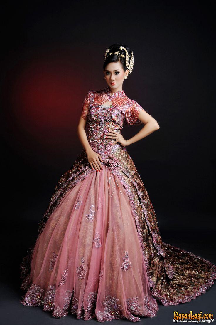 Gaun Batik Pengantin Wedding Planner Pinterest
