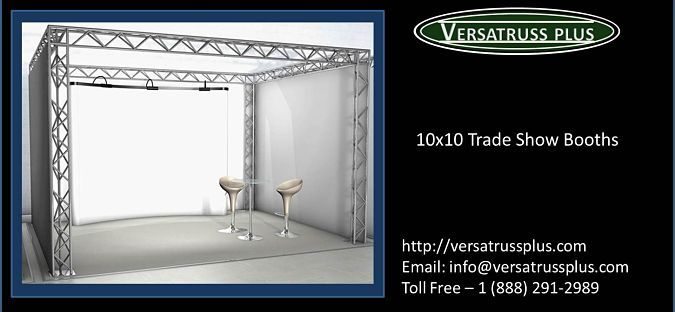 Booth design pictures to pin on pinterest - 10x10 Trade Show Booths Http Versatrussplus Com 10x10 Trade Show