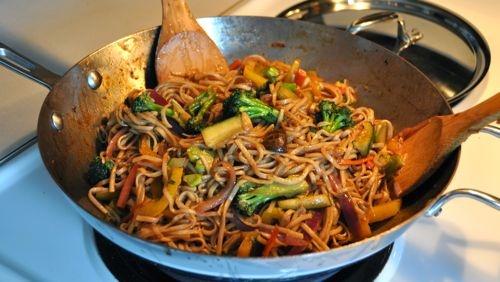 Veggie Lo Mein | Recipes | Pinterest