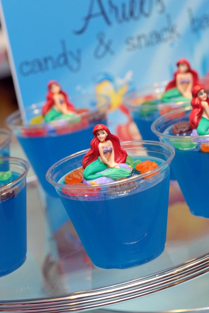 Jello Mermaid/Fish Bowls   Jays girl   Pinterest