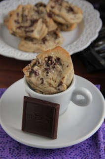 ... chip cookies with Ghirardelli's sea salt soiree chocolate chunks