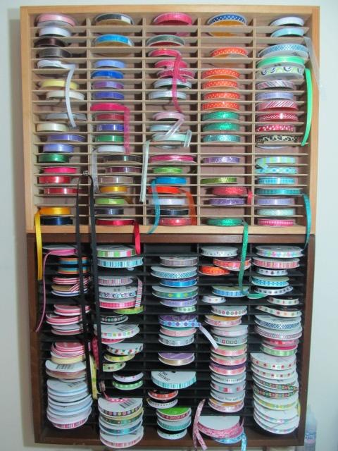 Cassette Organizer = Ribbon Storage