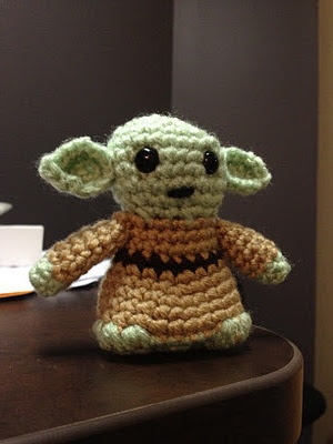 Crochet Patterns Yoda : Yoda Amigurumi - Pattern Link My Crochet Creations Pinterest