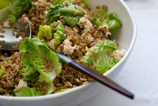 Whiskey & Wheat Berry Salad | Recipe