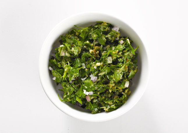 Horseradish Salsa Verde   Recipe