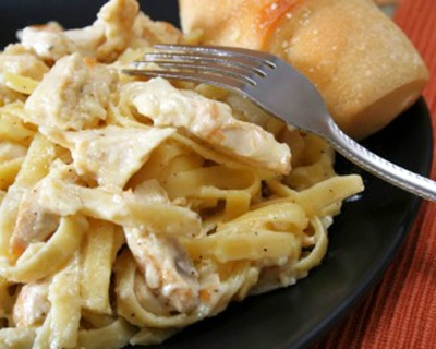 Slow Cooker Chicken Alfredo | yummy food | Pinterest