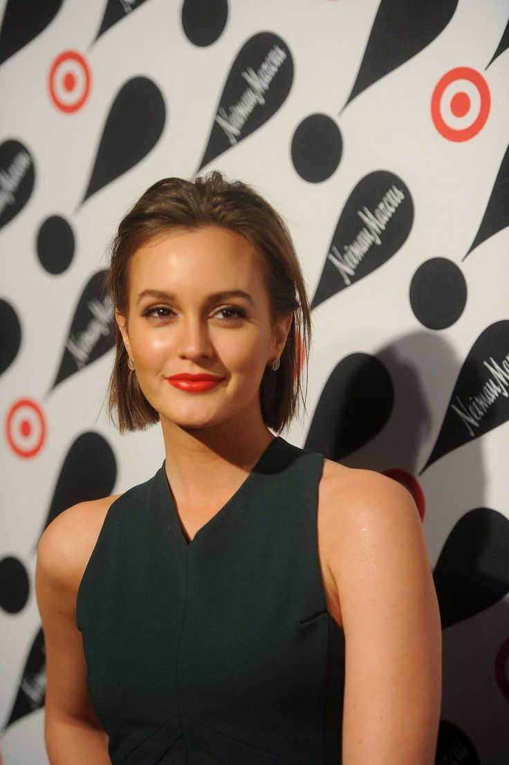 ... her hair | Leighton Meester: My biggest fashion inspiration | Pi