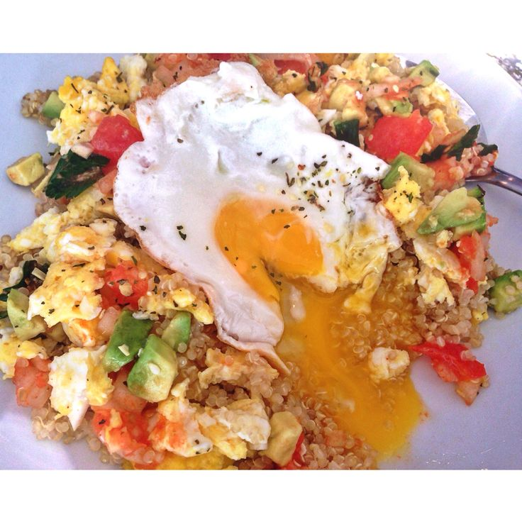 Breakfast Quinoa Salad | Food by me. | Pinterest