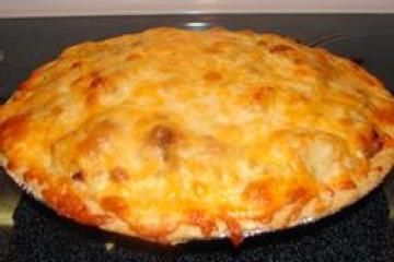 Sausage apple pie | casseroles | Pinterest