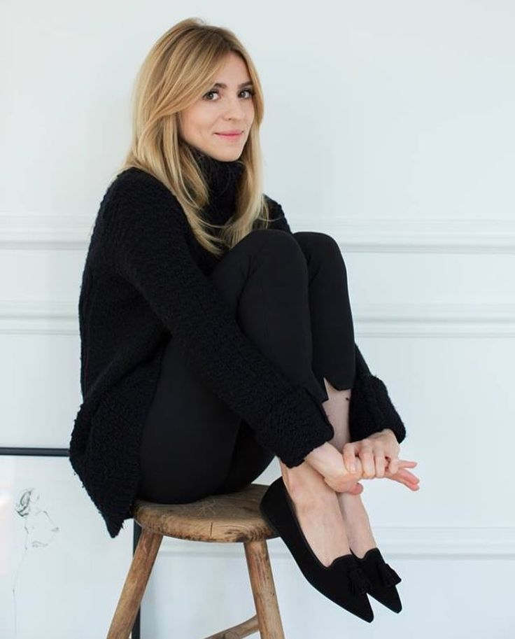 Want: A Minimalist Black Turtleneck With Chic Lasercut Sleeves (For Under50)