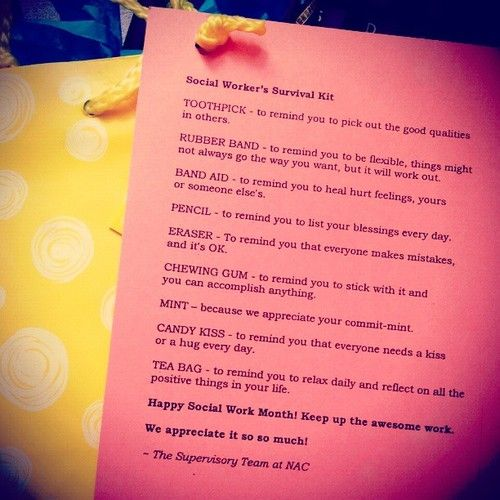 social worker survival kits | just b.CAUSE