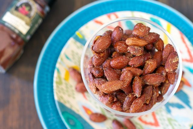 Sweet Chipotle Almonds, sweet…but with a surprising kick!