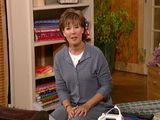Video of sewing room ideas from Alex Anderson.