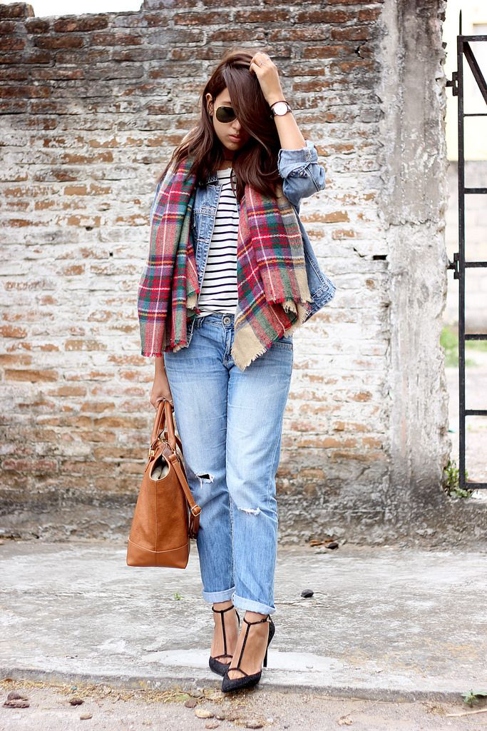 Phối đồ với áo khoác Jeans trẻ trung năng động - Ảnh 5