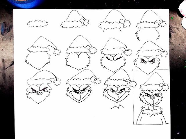 How Draw The Grinch Stole Christmas together with 2014 schedule d ...