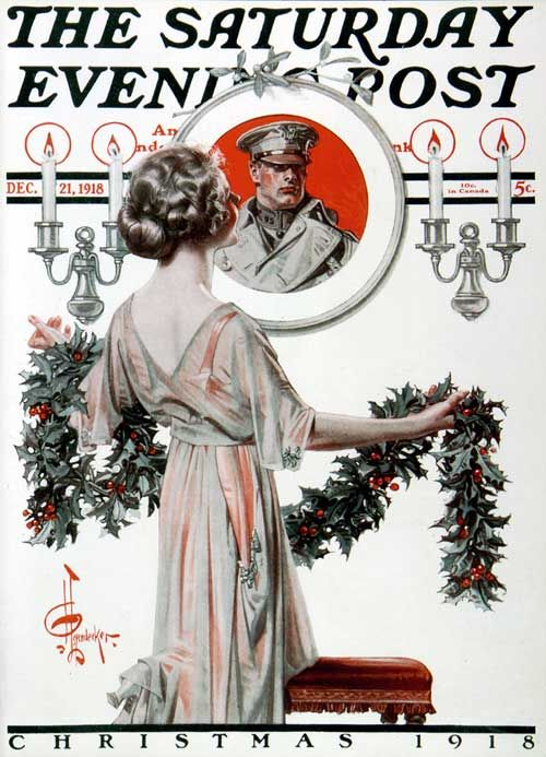 1918, the first Christmas after WWI