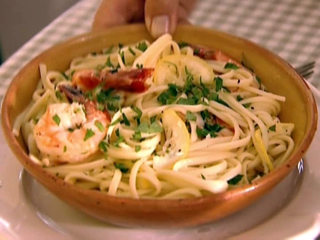 Linguine with Shrimp Scampi from FoodNetwork.com