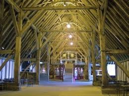 Wooden barns interior design