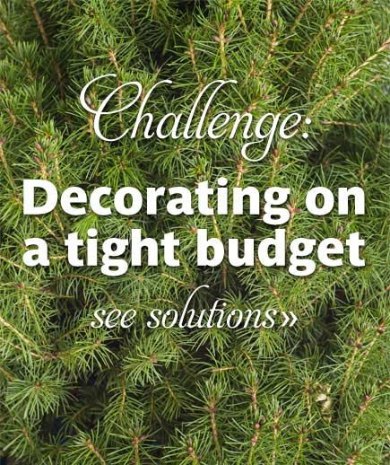 Christmas Decorating Ideas On A Budget | Decorating on a Tight Budget ...