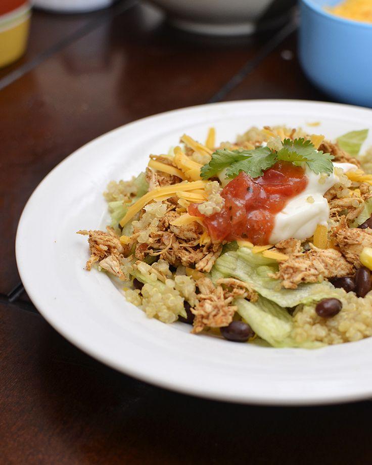 Quinoa Burrito Bowls