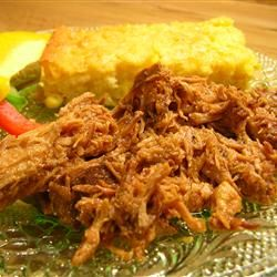 Slow Cooker Texas Pulled Pork! For our cookout! http://allrecipes.com ...