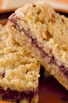 Raspberry Oatmeal Cookie Bars | Food and Drinks | Pinterest