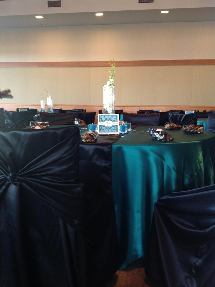Community diego Center  Black runner table Satin San Runner in rentals san  Diego at the  Coronado Table