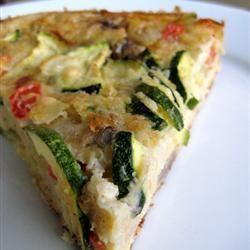 Potato and zucchini quiche | Food.... | Pinterest