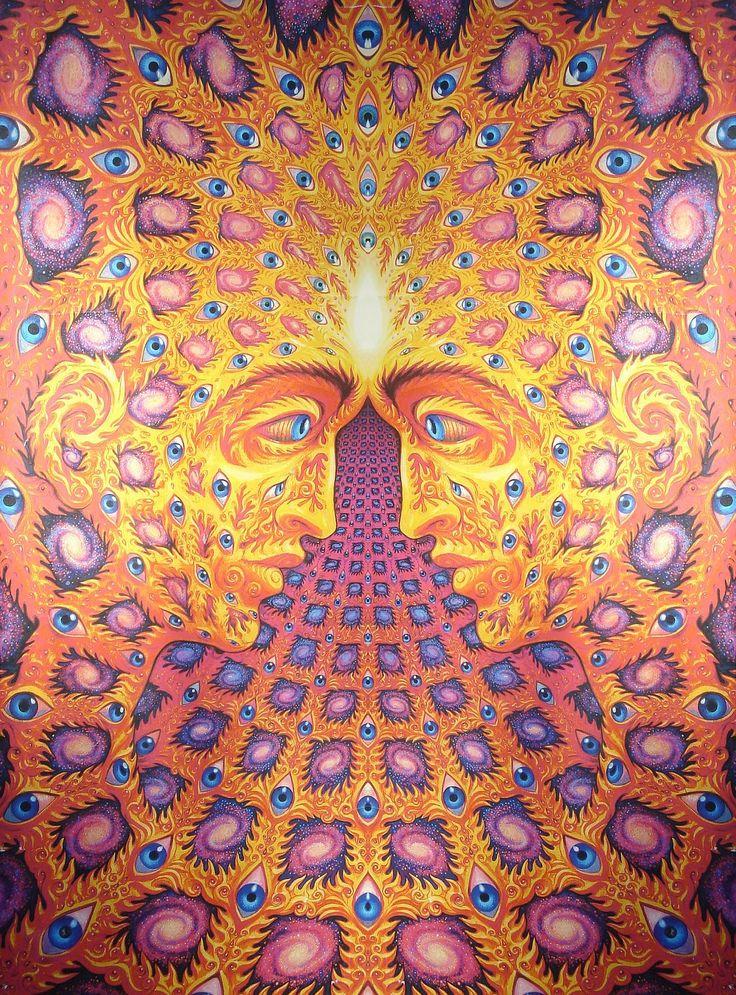 What you seek is seeking you. Alex Grey | Sacred Geometry ...